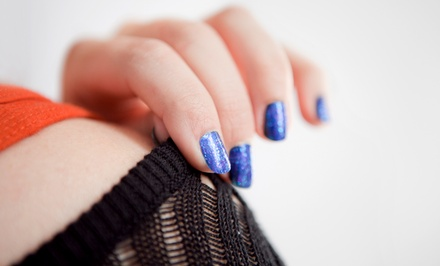 One or Three Mani-Pedis at The Olive Salon (Up to 58% Off). Classic and Shellac Gel Polish Options.