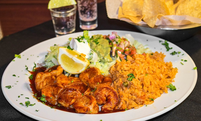 Blue Agave Mexican Bar & Grill - Greensboro: Mexican Dinner for Two or Four or Take-Out at Blue Agave Mexican Bar & Grill (Up to 48% Off)