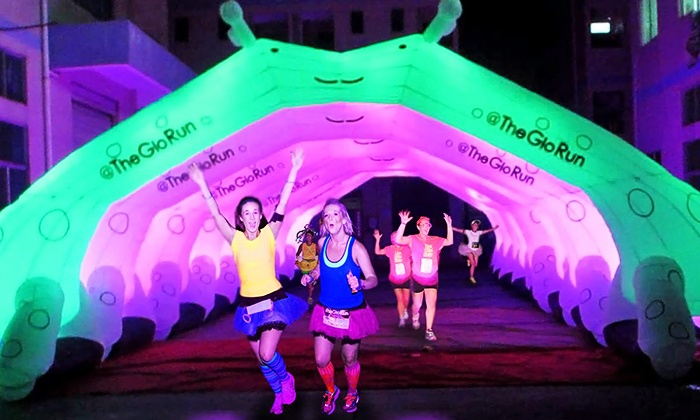 The Glo Run - Welcome Stadium: $39 for The Glo Run 5K Entry with Energy Upgrade on Saturday, June 27 ($65 Value)