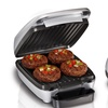 Hamilton Beach Indoor Grill with Removable Grill Plates