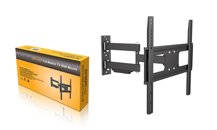 Argom Full Motion Tv Wall Mounts Groupon Goods