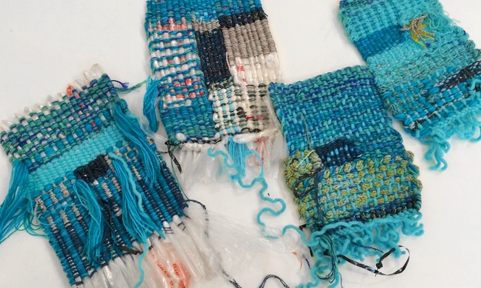 Weaving Class - Philadelphia: Create Textile Art with Upcycled Items in a Weaving Class