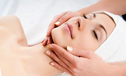 60- or 90-Minute Massage with Optional Lymphatic Drainage for Face and Neck at Vibrenergy (Up to 48% Off)