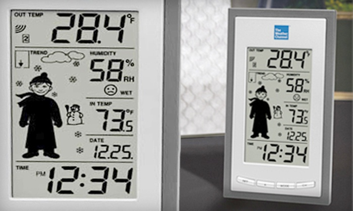 Weather Channel Wireless Forecast Station: $19 for The Weather Channel Wireless Weather-Forecast Station ($54.95 List Price). Free Shipping.