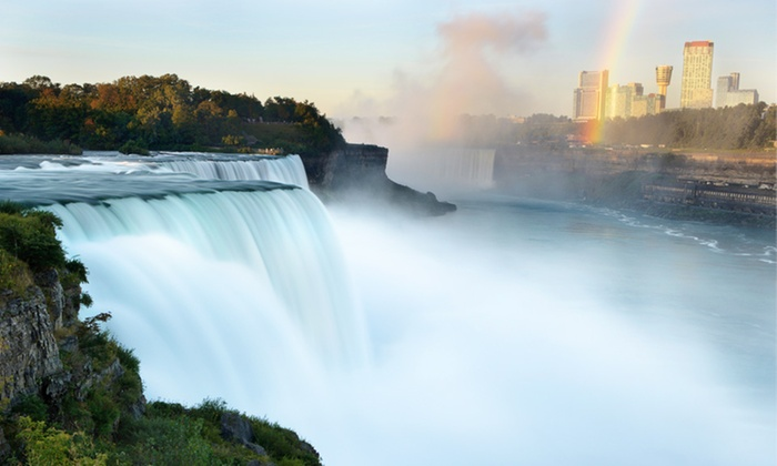 Sheraton At The Falls Hotel - Harrisburg / Lancaster: Stay with Daily Slot-Machine and Dining Credits at Sheraton At The Falls Hotel in Niagara Falls, NY, with Dates into May