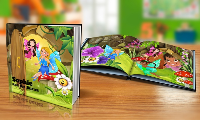 "Dinkleboo: $9 or $14 for Softcover or Hardcover ""The Fairies"" Personalized Kids Book from Dinkleboo (Up to 65% Off)"