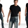 Antique Rivet Men's Jeans