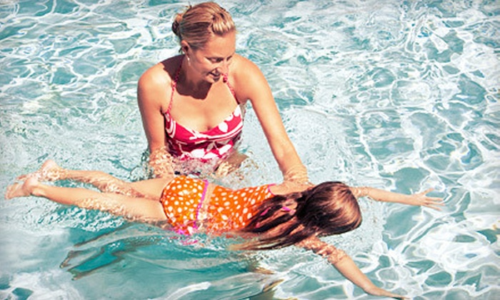 Swimming Stages Swim Academy - Farmette Meadows: $69 for Eight 30-Minute Children's Basic Swim Classes at Swimming Stages Swim Academy in Spring ($175 Value)