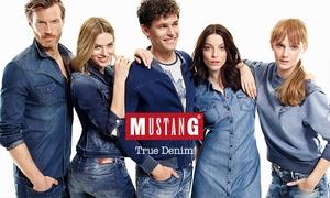 MUSTANG: Wertgutschein über 25 € anrechenbar auf das gesamte Sortiment in allen teilnehmenden MUSTANG Mono Brand Stores für 12 €