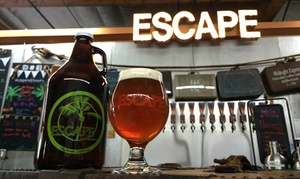 Escape Craft Brewery: Beer Tastings for Two or Four at Escape Craft Brewery (Up to 45% Off)