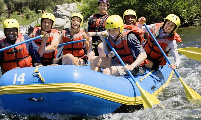 N8TV Adventures - Warm Springs: Up to 54% Off Half-Day of River Rafting and River Boarding