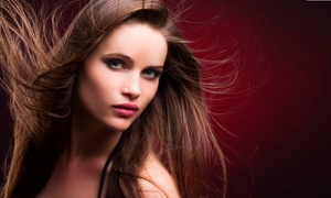 MRP Beauty Solutions: Pure Brazilian Blowout Treatment with Optional Color Retouch at MRP Beauty Solutions (Up to 52% Off)