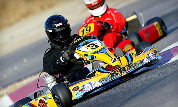 Adams Motorsports Park - Riverside: $25 for Two Kart Races Monday–Friday or on Sunday at Adams Motorsports Park ($50 Value)