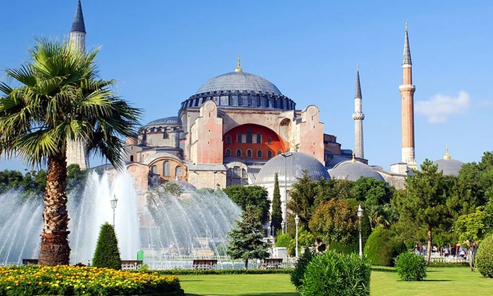 See Istanbul on Tour of Turkey with Airfare -  Istanbul, Çanakkale, Izmir, Antalya, Cappadocia, and Ankara: 13-Day Tour of Turkey with Airfare and First-Class Accommodations from Gate 1 Travel