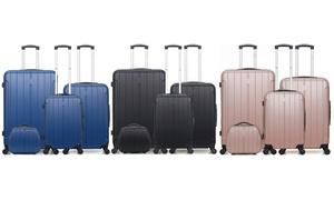 Set de 3 valises et 1 vanity Fogo-C