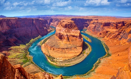 Groupon Deal: 4-Day Tour of Utah and Arizona from Southwest Adventure Tours. Price per Person Based on Double Occupancy.