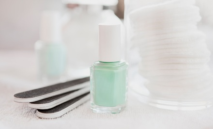 Gel Manicure with Option for Spa Pedicure from Monica Williams at the Powder Room (Up to 56% Off)