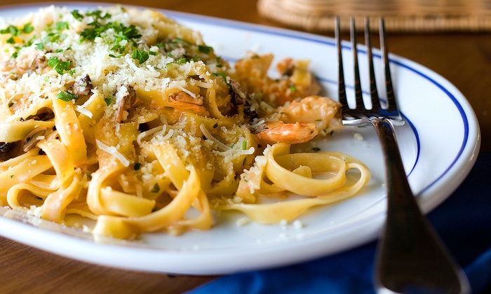 Luna Rossa Italian Grill - Miromar Outlets Mall: Authentic Italian Food and Drinks at Luna Rossa Italian Grill (Up to 53% Off). Five Options Available.