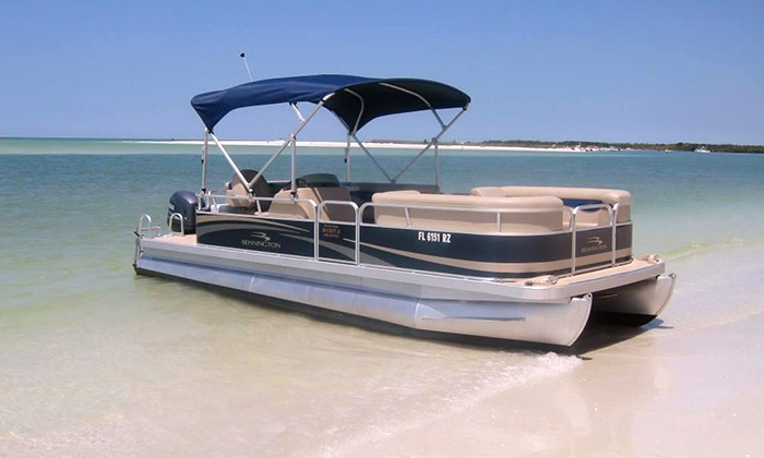 Park Shore Marina and Boat Rentals - Park Shore: Eight-Hour Pontoon-Boat or Bow-Rider Rental from Park Shore Marina and Boat Rentals (33% Off)