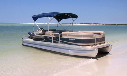 Eight-Hour Pontoon-Boat or Bow-Rider Rental from Park Shore Marina and Boat Rentals (41% Off)