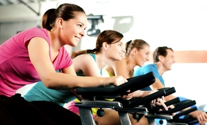 Studio Spin: 12 Indoor-Cycling Classes at Spin of San Diego