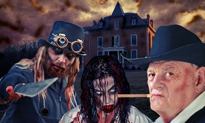 Major Graham Mansion - Hethwood - Prices Fork: $15 for Spookyworld Haunted Outing for Two at Major Graham Mansion ($30 Value)