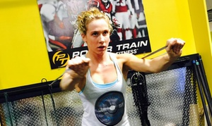 Power Train Sports & Fitness: 1 or 3 Months of Boot Camp or 5 Personal Training Sessions at Power Train Sports & Fitness (Up to 76% Off)