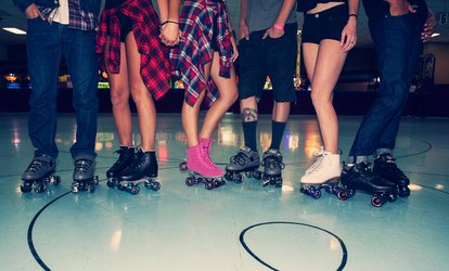 image for Roller-<strong>Skating</strong> Plus Skate Rental for Two, Four, or Six or Beginners Skate Classes (Up to 50% Off)