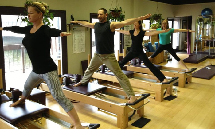 Fox River Pilates Center - Geneva: Three Private Pilates Lessons or Five Mat Classes at Fox River Pilates Center (Up to 66% Off)