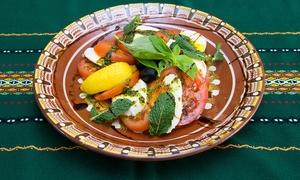 Mehana The Old House: Two-Course Bulgarian Meal With Rakia For Two (£16.90) or Four (£33) at Mehana The Old House (Up to 63% Off)