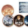 Harry Potter and the Deathly Hallows 3-Coin Collectible Set