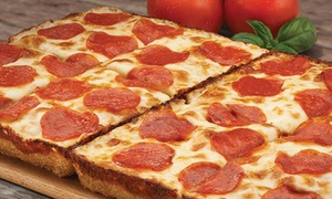 Jet's Pizza: $11 for Two Groupons, Each Valid for $10 Worth of Pizza, Cheese-Sticks, and Other Italian Dishes at Jet's Pizza