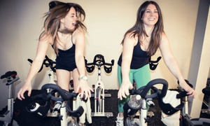 SYNCStudio: 5 or 10 Cycling, Yoga, and Group Training Classes at SYNCStudio (Up to 55% Off)