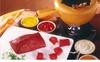 Menu fondue bourguignonne
