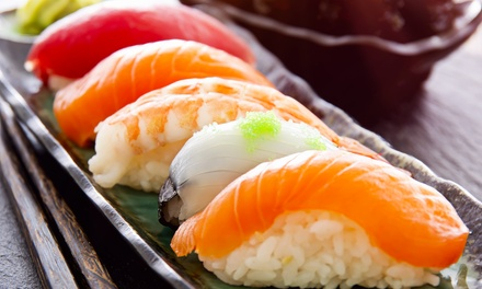 Japanese Dinner for Two or Four at Kiku (Up to 39% Off). Four Options Available.
