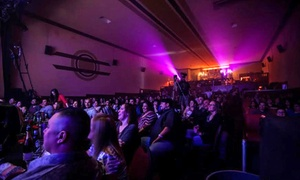 Cine El Rey Theatre: Standup Comedy with Popcorn and Drinks for Two or Four at The Historic Cine El Rey Theatre (Up to 62% Off)