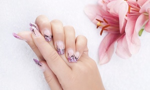 Lily Hair & Beauty Salon: Gel Nails for Hands or Feet or Both at Lilly Nail & Beauty (Up to 73% Off)