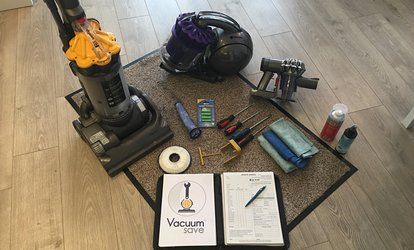 In-Home Vacuum Cleaner Service with Free Filter at Vacuum Save (73% Off)