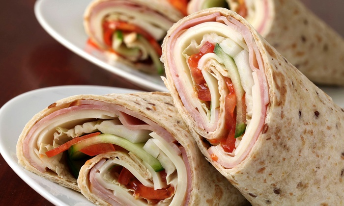 Roly Poly - Evansville: Sandwich Party Platter or Three Groupons, Each Good for $10 Worth of Sandwiches at Roly Poly (Up to 51% Off)
