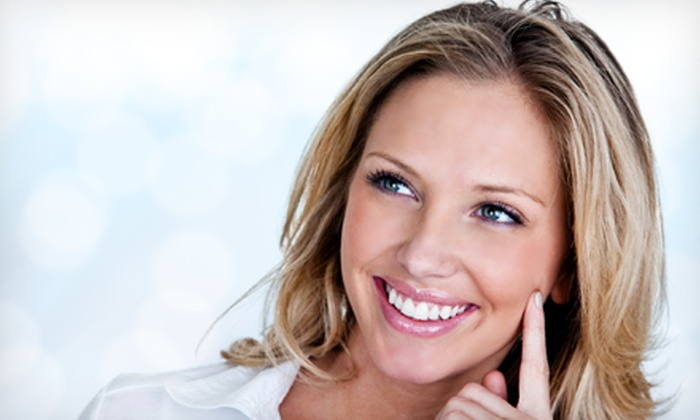 Nicholas Cosmetic Dental Center - Center City East: Dental Checkup and Teeth Whitening at Nicholas Cosmetic Dental Center (Up to 88% Off). Three Options Available.