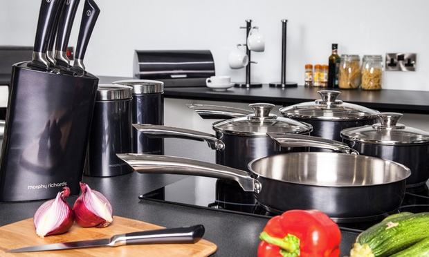 16 piece kitchen set groupon goods for Kitchen 17 delivery