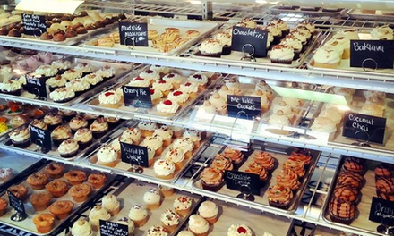 Four Cupcakes and Lattes or $11 for $20 Worth of Cupcakes and Desserts at Pure Delite Cupcakes