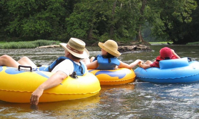 River & Trail Outfitters - River & Trail Outfitters: Two Tubing Trips for for One, Two, or Four from River & Trail Outfitters (Up to 53% Off)
