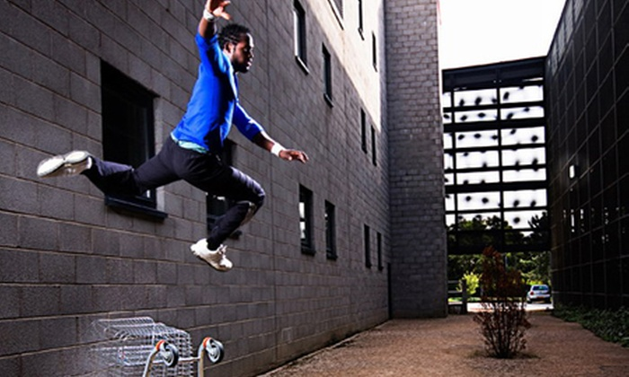 Paramount Parkour Academy Ltd. - Milton Keynes: Free Running: Four Classes from £12 at Paramount Parkour Academy (Up to 78% Off)
