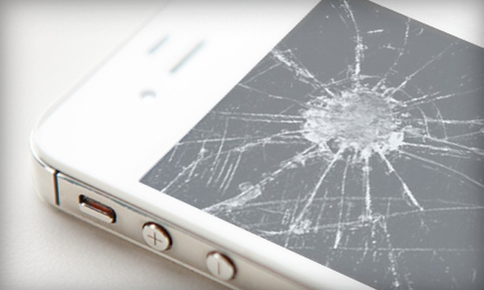 BadGizmo - Cragmoor: Cracked-Screen Repair for iPhones or iPads, or $20 for $40 Worth of Electronics and Repairs at Bad Gizmo