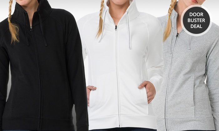 Women's Champion Stretch French Terry Year-Round Jacket: Women's Champion Stretch French Terry Year-Round Jacket. Multiple Styles Available. Free Returns.