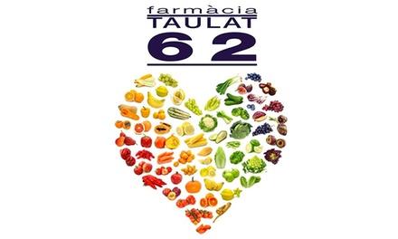 Test de intolerancia alimentaria para una o dos personas desde 24,90 € en Taulat 62