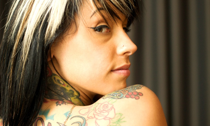"""ink. Body Art - Sola Salon Studios (Ink. Body Art): Up to 4""""x4"""" or 6""""x6"""" Custom Tattoo at ink. Body Art (Up to 60% Off)"""