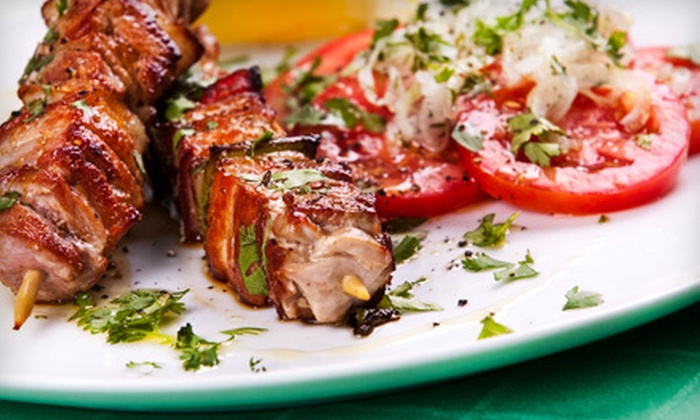 Astoria Kabob House - Saint Louis: Russian Meal with Wine for Two or Four at Astoria Kabob House (Up to 52% Off)