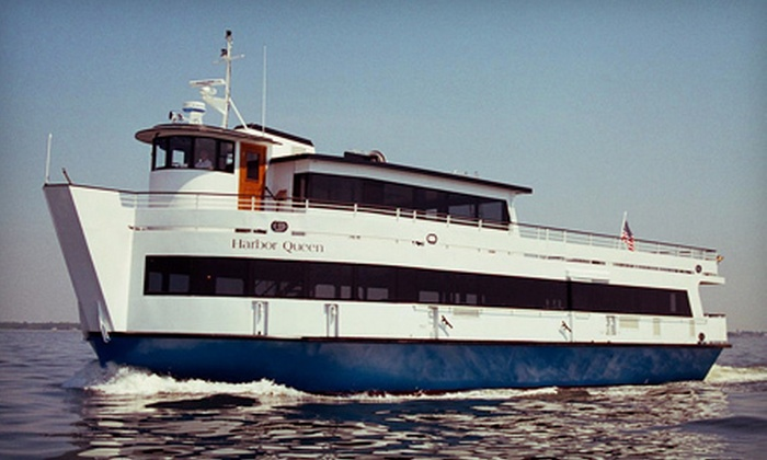Harbor Queen Cruises - Fall River: 3.5-Hour Brunch Cruise for One or Two from Harbor Queen Cruises (Up to 54% Off)